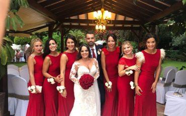 Mireia y Fernando se casaron el 8/09/2018